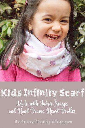 Kids Infinity Scarf – Scarf Week Day 3