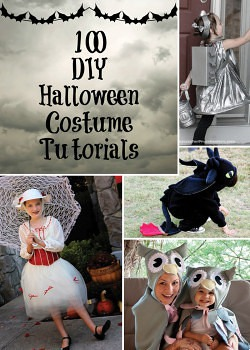 The Magic of Costumes + 100 DIY Halloween Costumes Tutorials