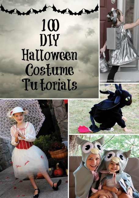 The Magic of Costumes + 100 DIY Halloween Costumes Tutorials