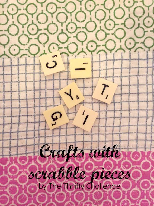 Crafting With Scrabble Pieces