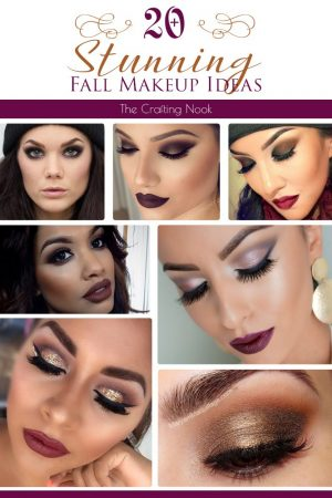5+ Stunning Fall Makeup Ideas