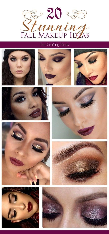 20+ Stunning Fall Makeup Ideas #makeupideas #fallmakeup #Autumnmakeup
