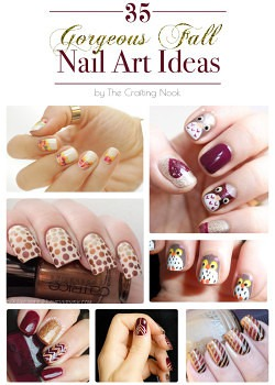35 Gorgeous Fall Nail Art Ideas