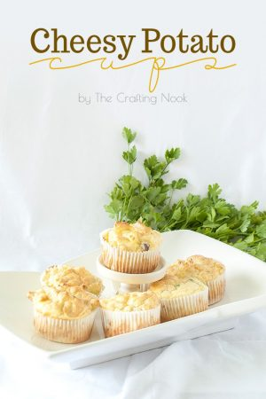 Cheesy Potato Cups Easy Recipe #potatorecipe #cheesypotato #easyrecipe