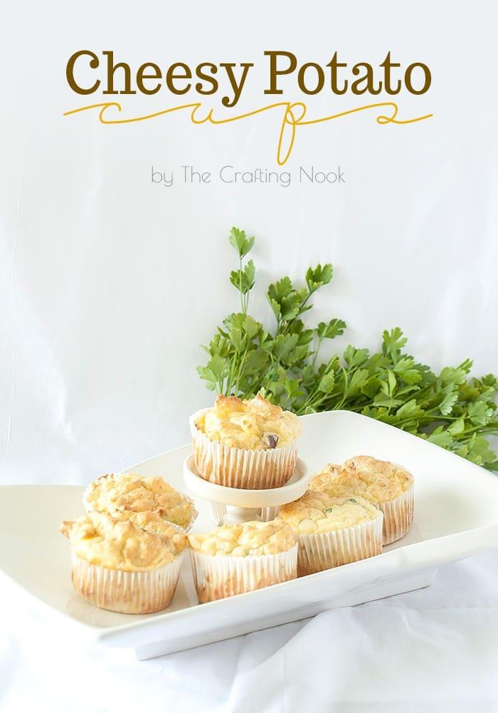 Cheesy Potato Cups Easy Recipe #potatorecipe #cheesypotato #easyrecipe