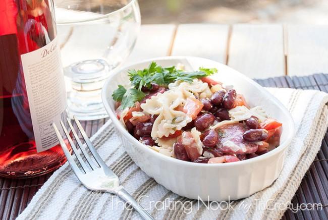 Farfalle-Pepperoni-Beans-Salad-fresh