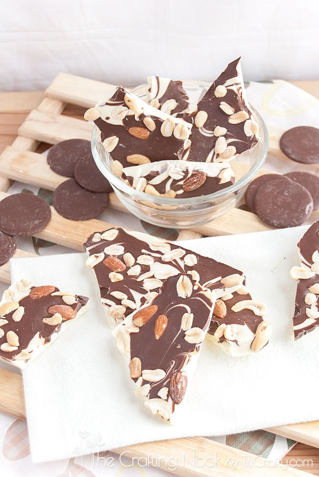 Mixed-nuts-double-chocolate-bark-quick-easy