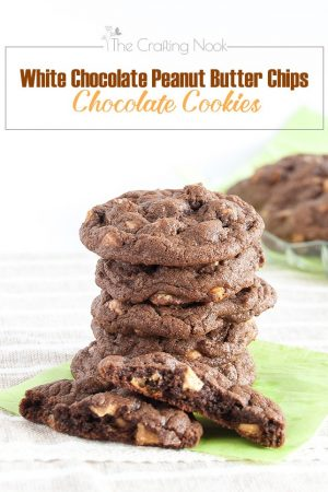 White Chocolate Peanut Butter Chips Chocolate Cookies