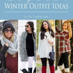 Collection of 36 Stylish Winter Outfit Ideas #winteroutfits #winterfashion #wintertrends