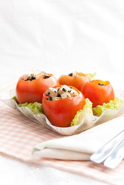 Caprese-Stuffed-Tomatoes-Recipe-appetizer