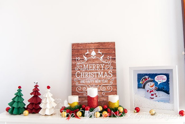 Faux-PalletChristmas-Sign-Plus-Mantel-Reveal-Cute