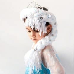 Cute and Easy Frozen DIY Elsa's Braid #frozen #frozenfever #frozenparty