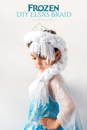 Frozen DIY Elsa's Braid