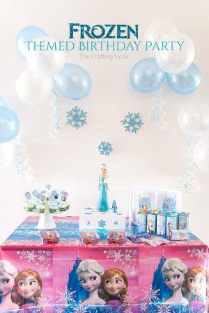 Frozen Themed Birthday Party