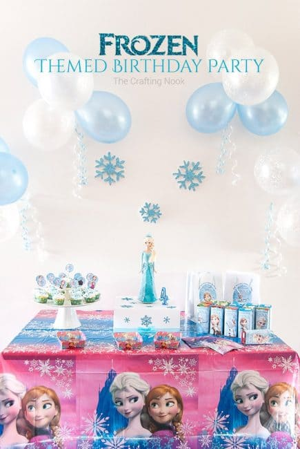 Frozen-Themed-Birthday-Party