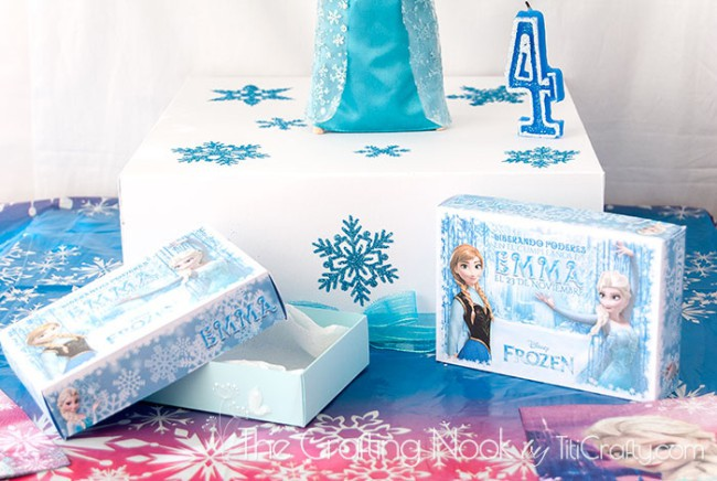 Frozen-Themed-Cake-Box-and-Individual-Cake-Boxes-sweet