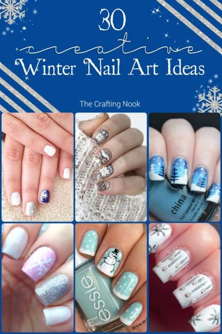 Collection of 30 Creative Winter Nail Art Ideas to Try this Winter