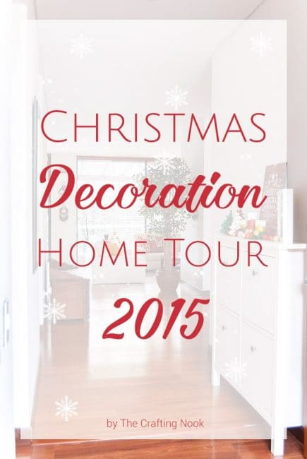 Lovely Christmas Decoration Home Tour 2015
