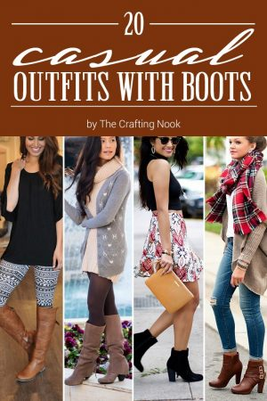 20 Casual Outfits with Boots