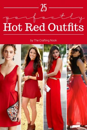 25 Perfectly Hot Red Outfits
