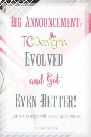 Big Announcement: TCDesigns Evolved and Got Even Better!