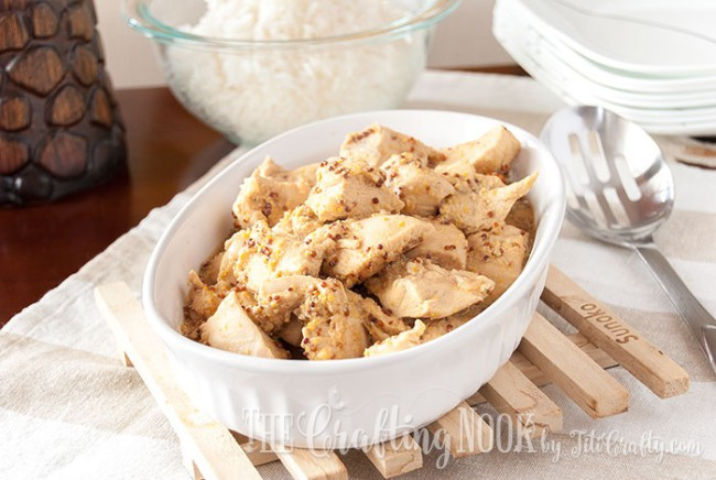 Honey Mustard Chicken, easy and super flavorful, perfect for weeknight meals!
