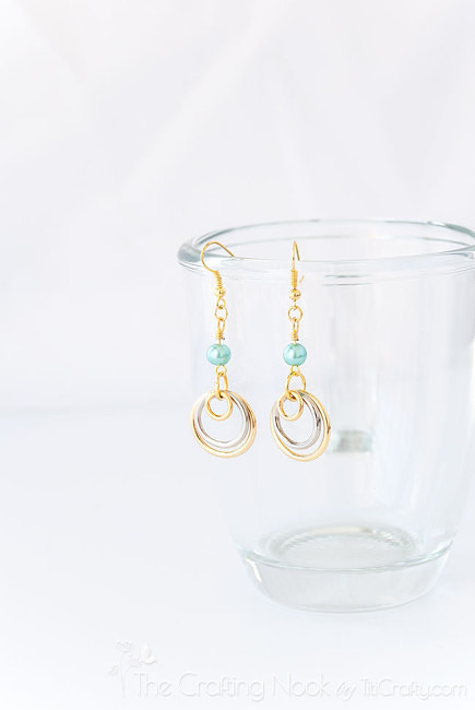 Silver-and-Gold-Multi-circle-Earrings-Easy