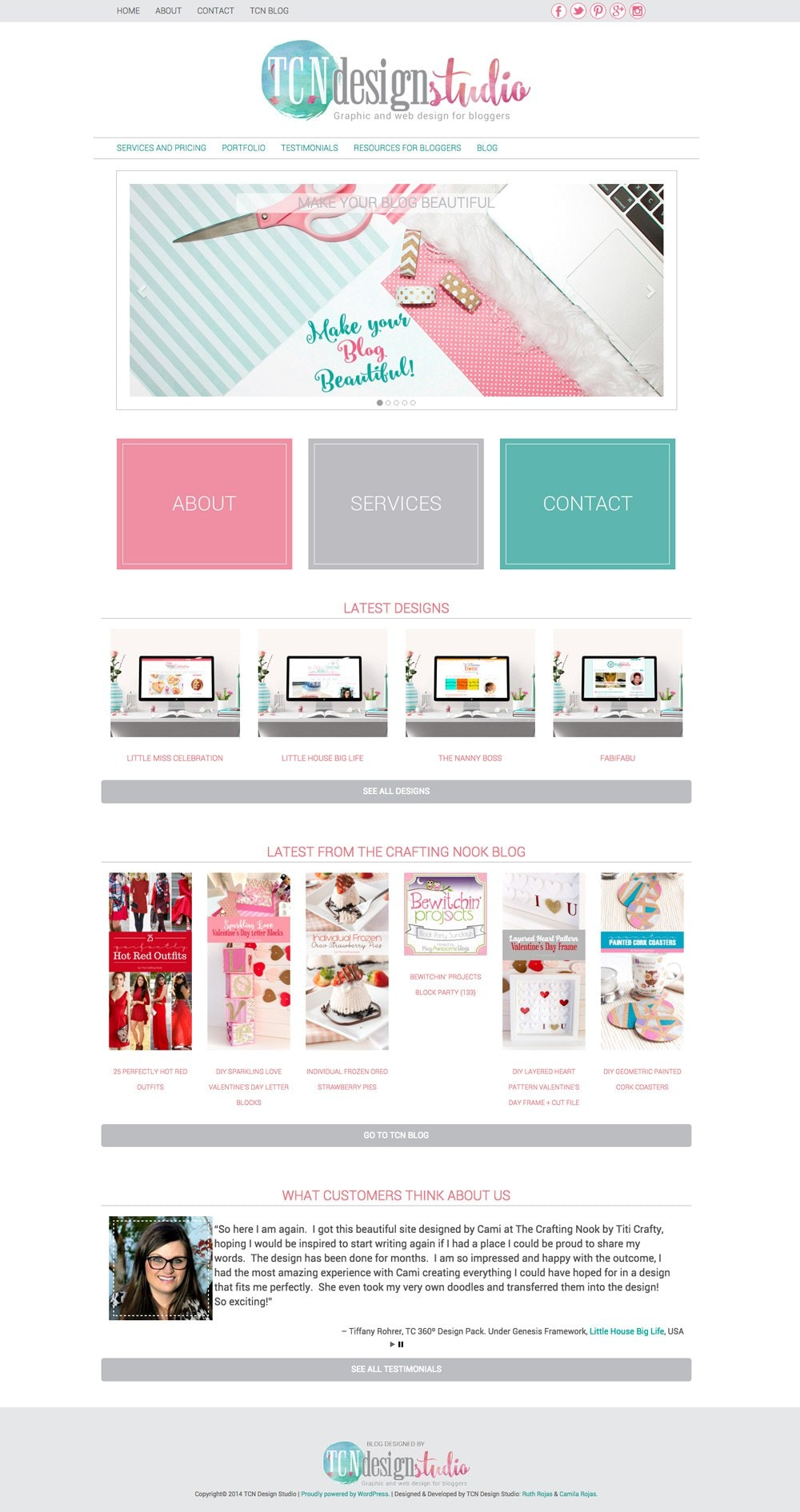 TCNDS-English-Cute-Blog-Design