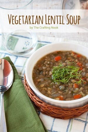 Delicious Vegetarian Lentil Soup Recipe