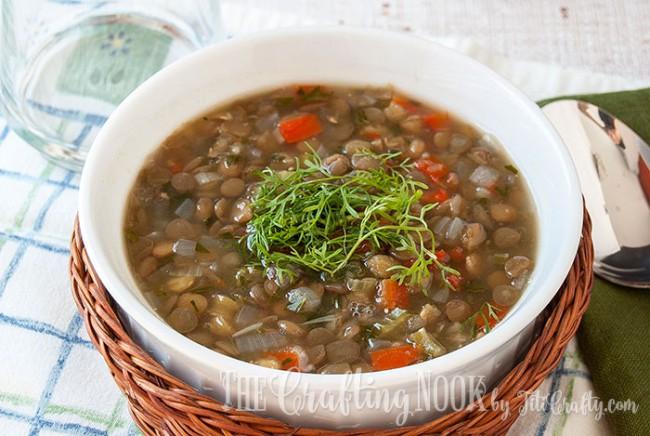 Vegetarian-Lentil-Soup-Yummy