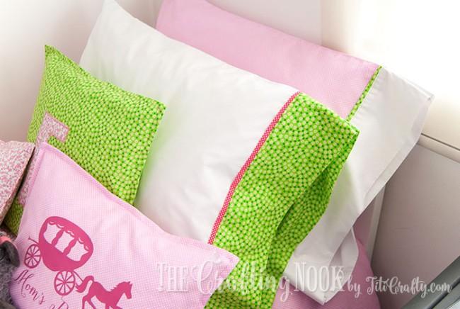 Bedding-Set-for-Girls-Pillowcases
