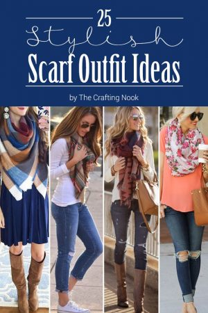 25 Stylish Scarf Outfit Ideas