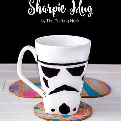 Stormtrooper Sharpie Mug Fun Tutorial