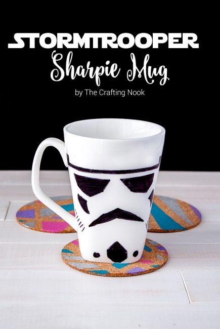 Stormtrooper Sharpie Mug Fun Tutorial