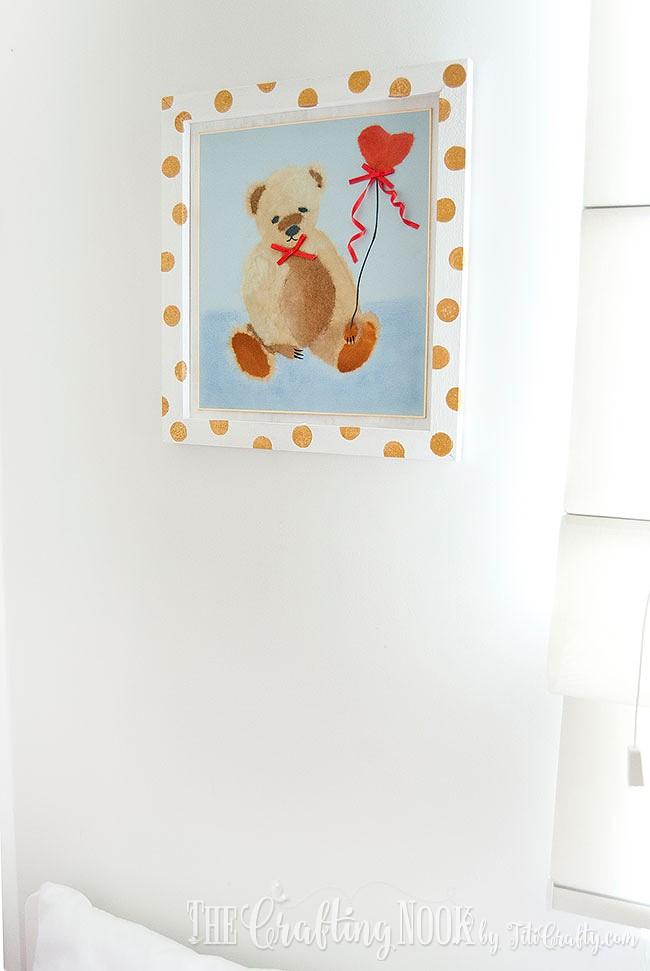BiriBiri-Art-Series-Bear-Paper-Painting-Wall-Art-Frame