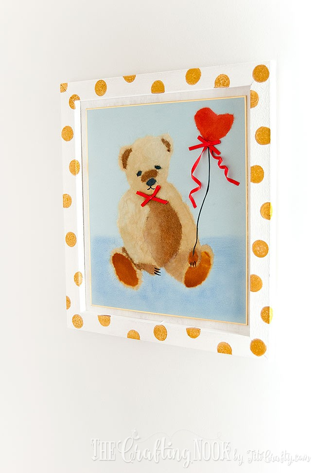 BiriBiri-Art-Series-Bear-Paper-Painting-Wall-Art-Sweet