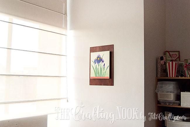 Biribiri-Art-Series-Paper-Painting-Wall-Art-Hung
