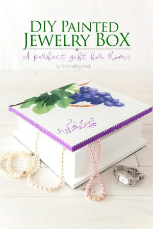 DIY Painted Jewelry Box