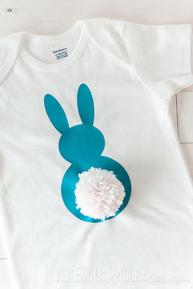 Heat-Transfer-Vinyl-Pom-Pom-Bunny-Tail-Onesie-Embellished