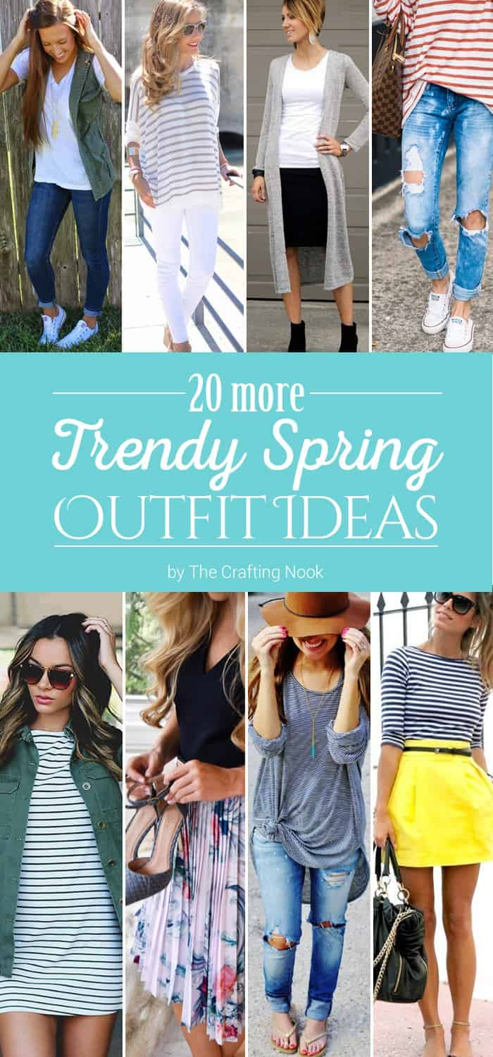 20 Trendy Spring Outfit Ideas to try this year!