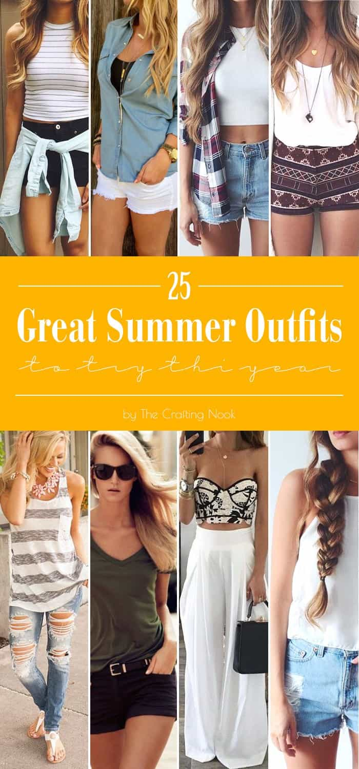 25 Great Summer Outfits to try this year