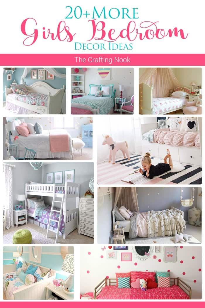 20+ More Girls Bedroom Decor Ideas for Inspiration