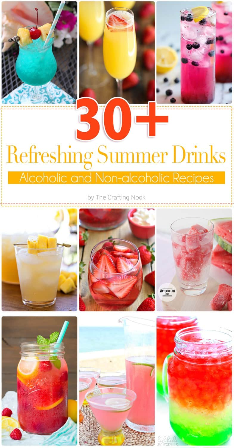 30+ Delicious and Refreshing Summer Drinks