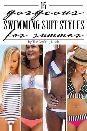 15 Gorgeous Swimming Suit Styles for Summer