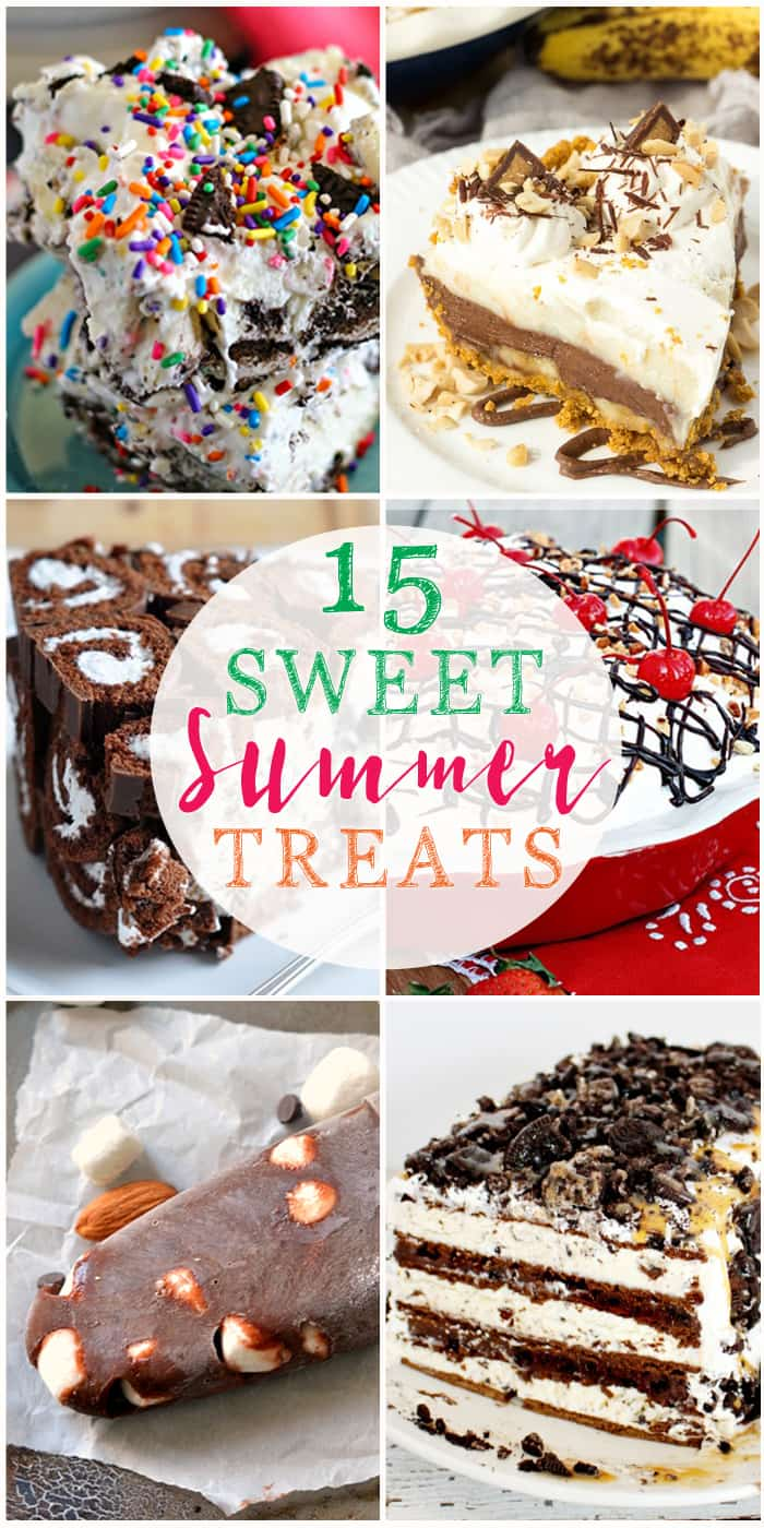 15 Sweet Summer Treats | The Crafting Nook
