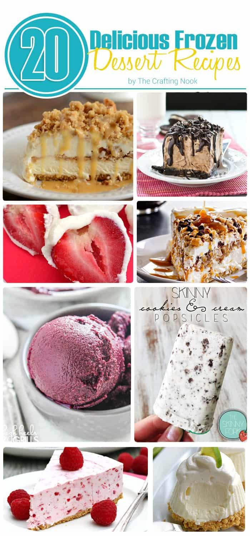 20 Delicious Frozen Dessert Recipes
