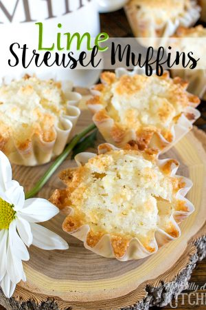 Lime Streusel Muffins