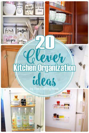 20 Clever Kitchen Organization Ideas to try right now!