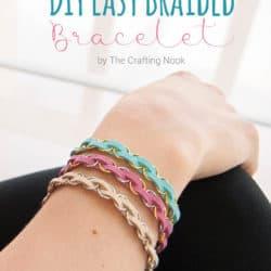 DIY Easy Braided Bracelet Tutorial