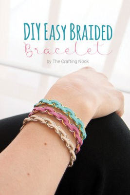 DIY Easy Braided Bracelet Tutorial